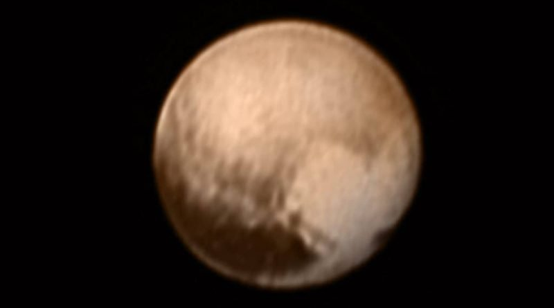 The best yet NASA photo of Pluto from New Horizons,.