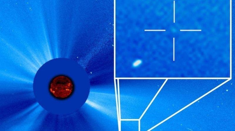 SOHO's 3,000th comet