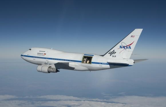 NASA's SOFIA telescope