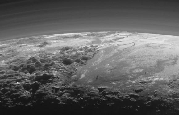 Pluto from New Horizons
