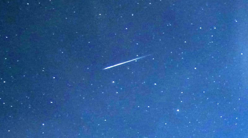 See the Lyrid meteor shower reach its peak this weekend