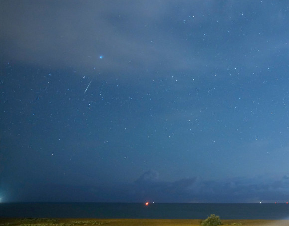 New Year Quadrantid meteors put on a fine show