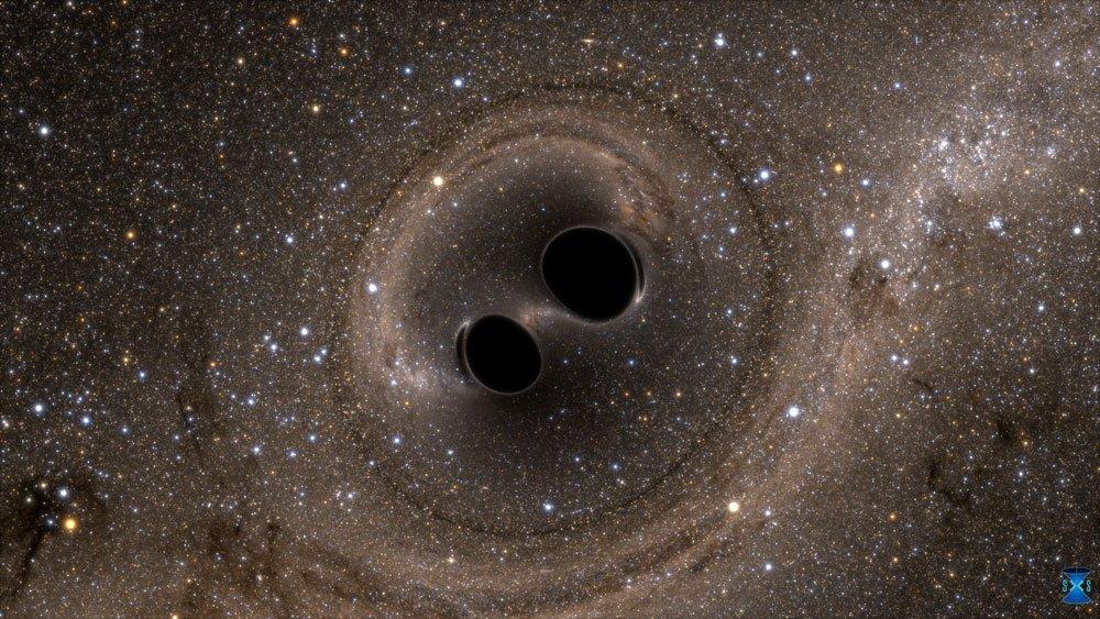 Black holes colliding