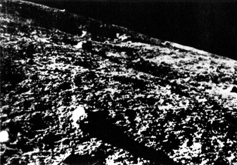 Luna 9 image of Moon