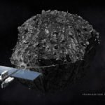 An artist's impression of a spacecraft harvesting an asteroid for its resources. Image credit: Deep Space Industries / Bryan Versteeg