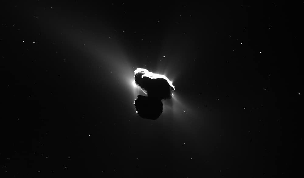 Comet with coma