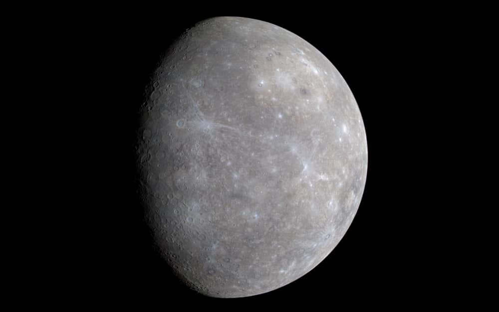 Mercury from Messenger