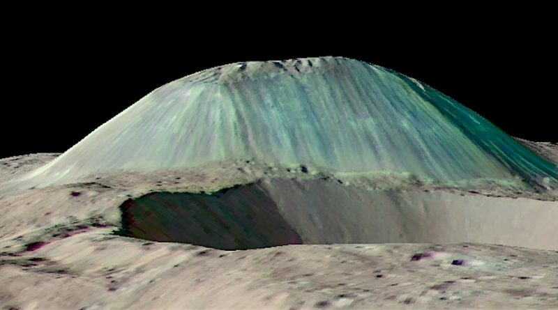 NASA's Dawn probe finds ice volcano on dwarf planet Ceres