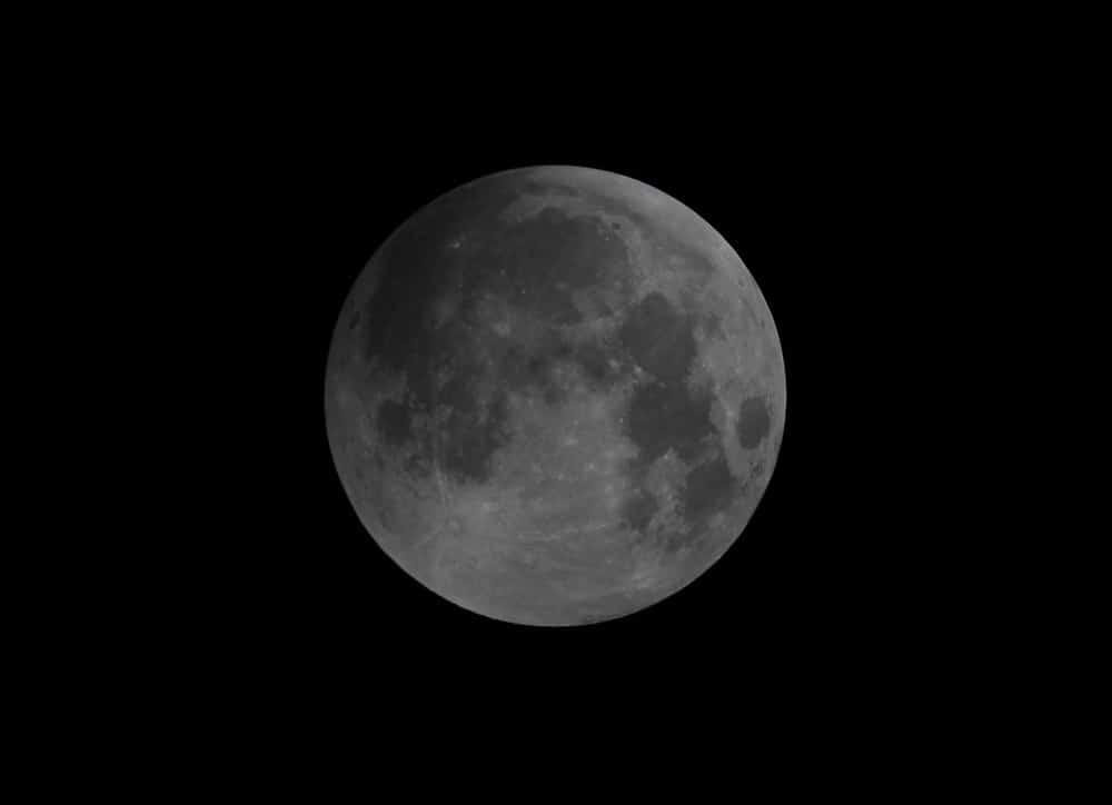 Moon in penumbra