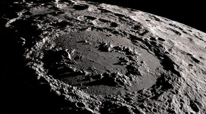 Schrodinger Crater