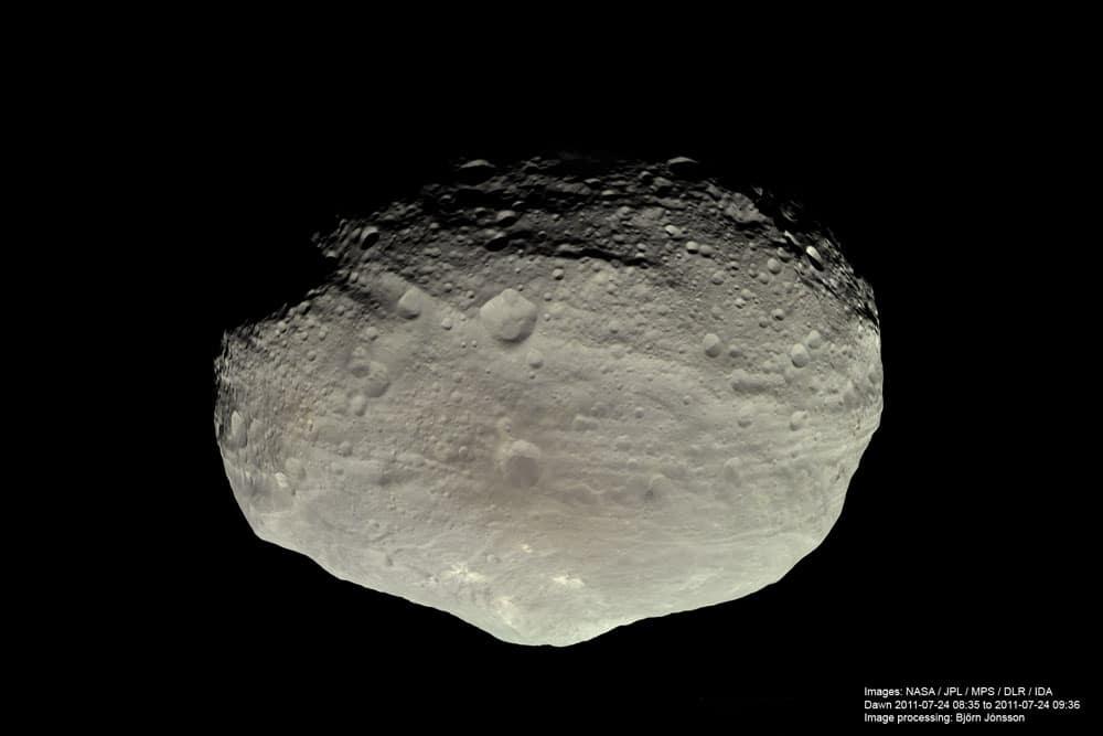 Vesta from Dawn