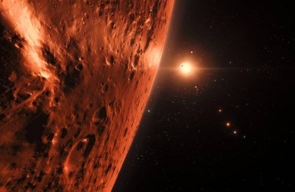 TRAPPIST-1 planet