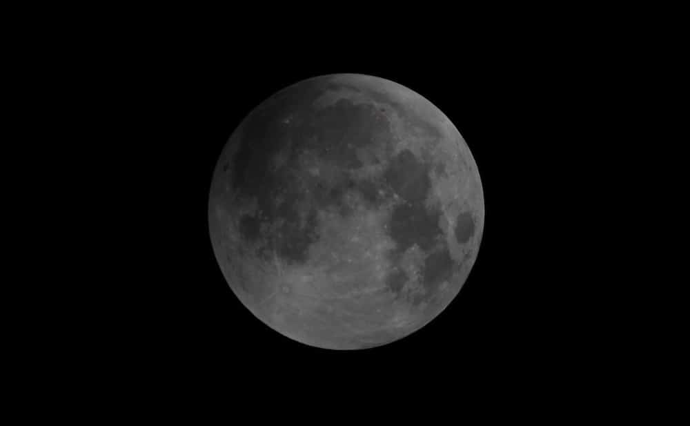 Moon in penumbral eclipse