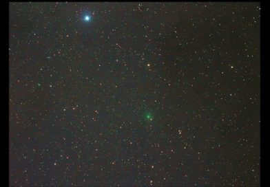 See comet in the evening sky as it crosses Big Dipper and the Dragon