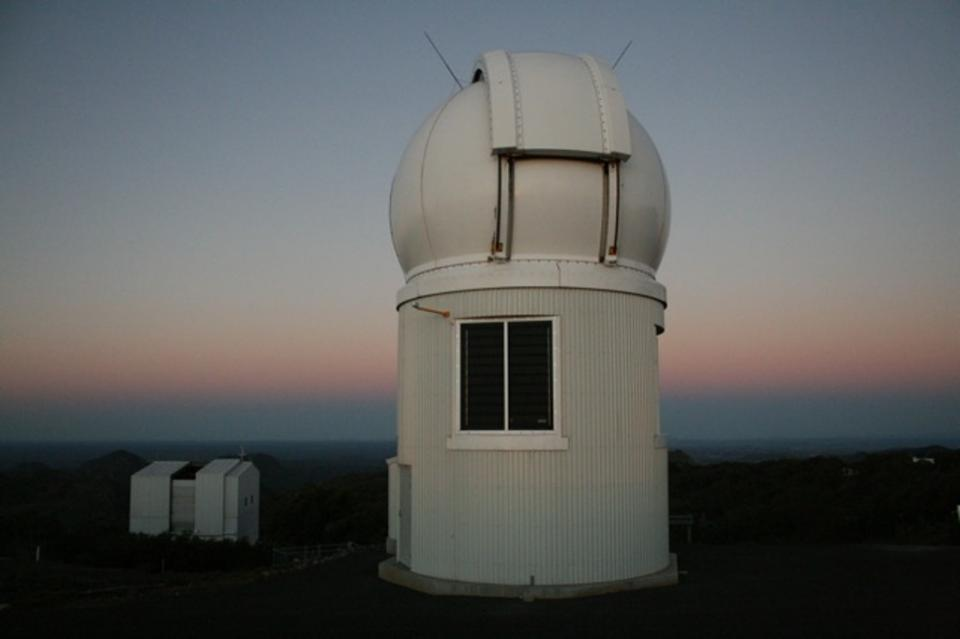The dome housing the SkyMapper telescope at Siding Spring
