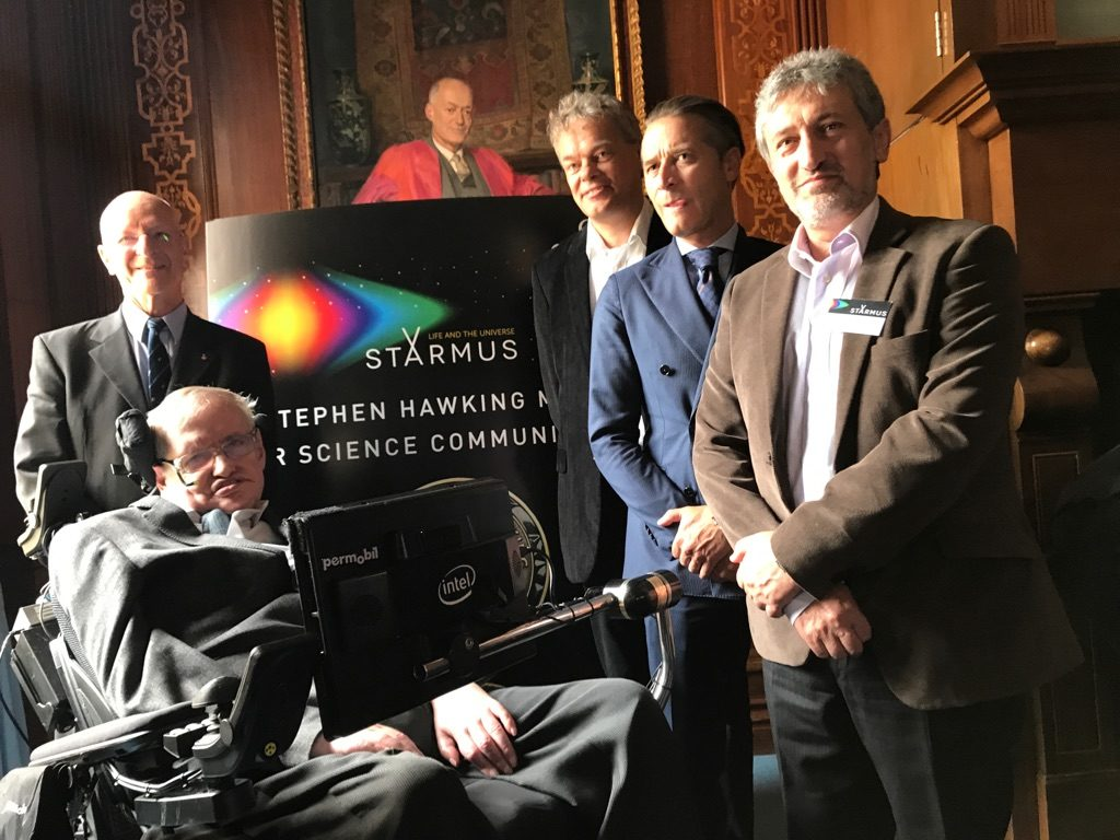 Hawking and co