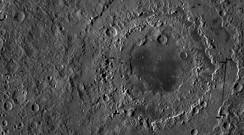 Rare chance to see Mare Orientale, site of giant impact on the Moon