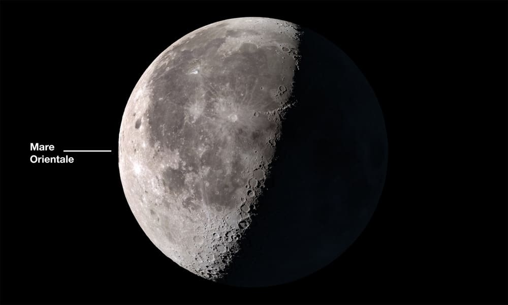 Moon with Mare Orientale