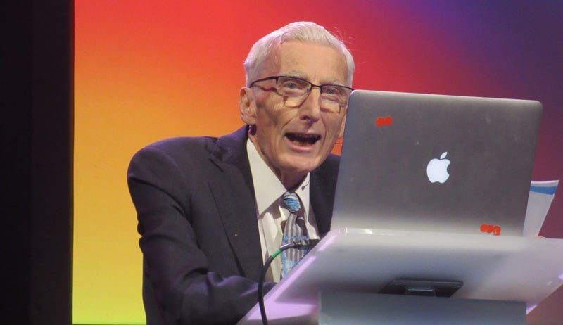 Lord Rees speaks at Starmus