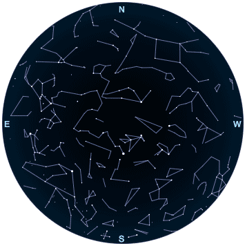 What you can see in the night sky in November 2017