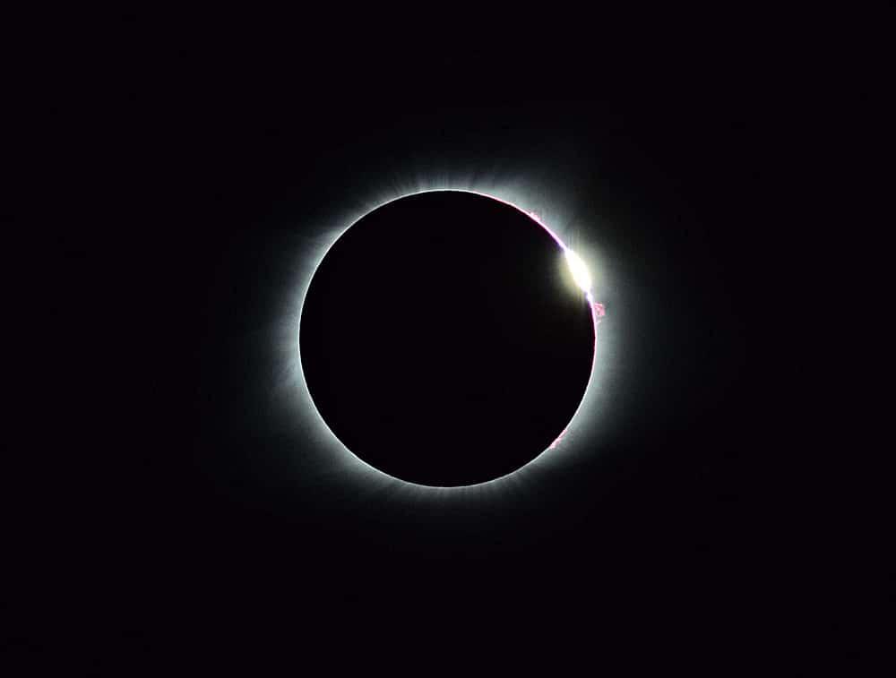 Eclipse over Oregon