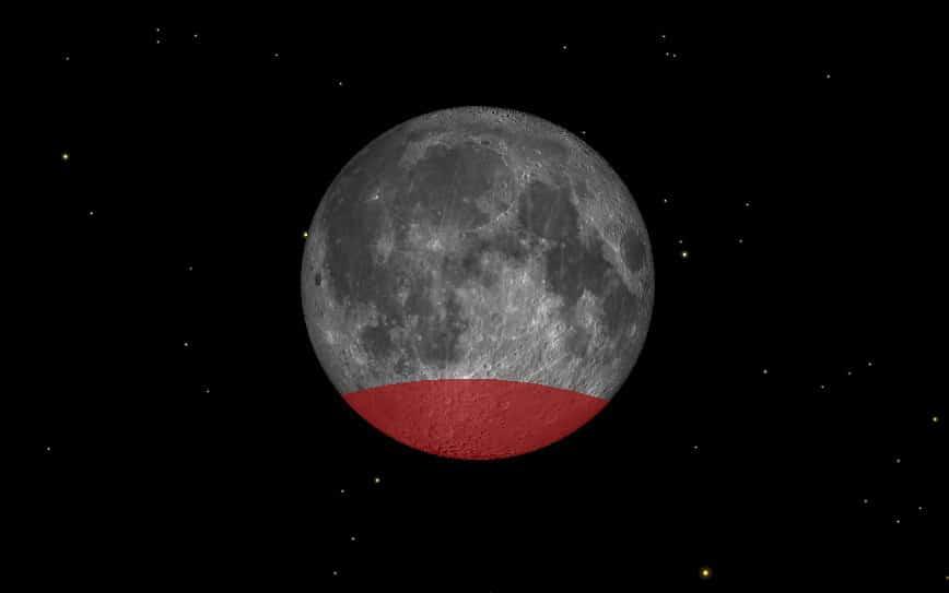 Partial Lunar Eclipse Favours Asia Far East And Australia