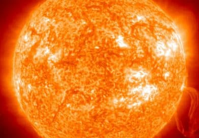 The Sun's core is spinning four times faster than its surface