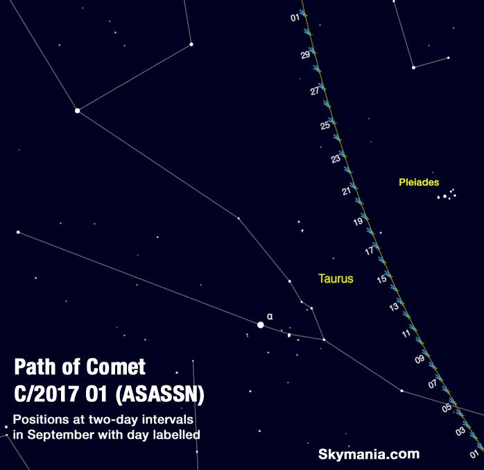 Comet ASASSN