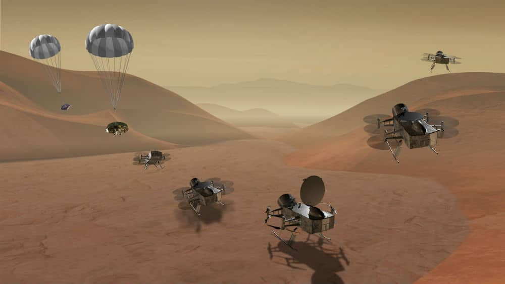 Dragonfly concept mission