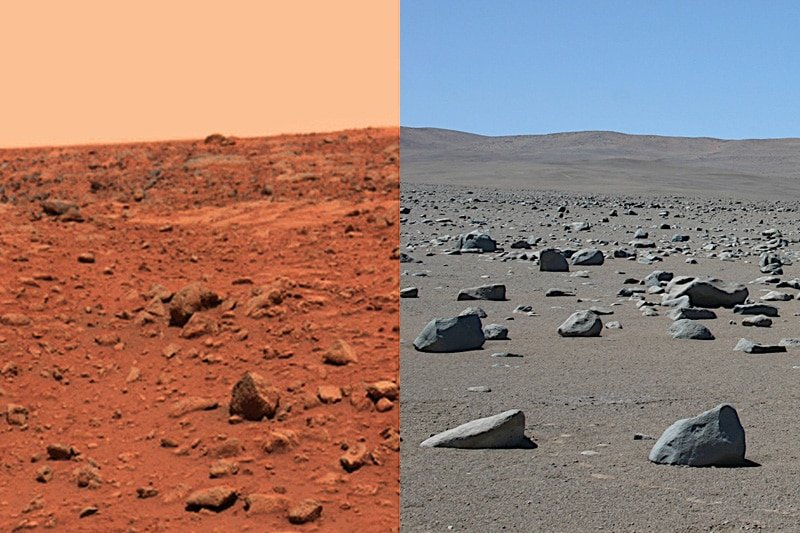 Mars and Chile