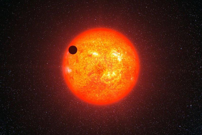 red dwarf transit