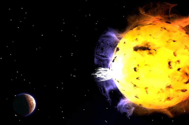 Proxima Centauri superflare