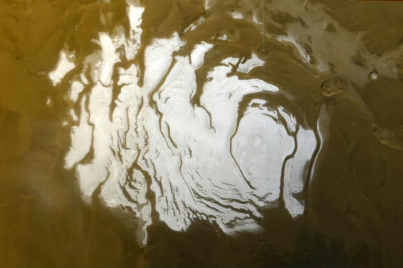 South Polar Cap of Mars