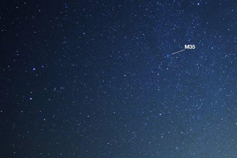 M35 in Gemini