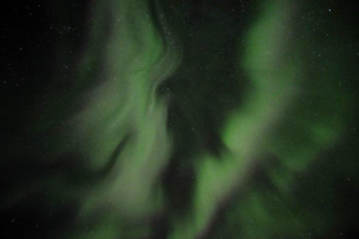 Coronal aurora