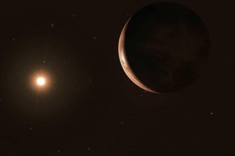 Barnard's Star exoplanet