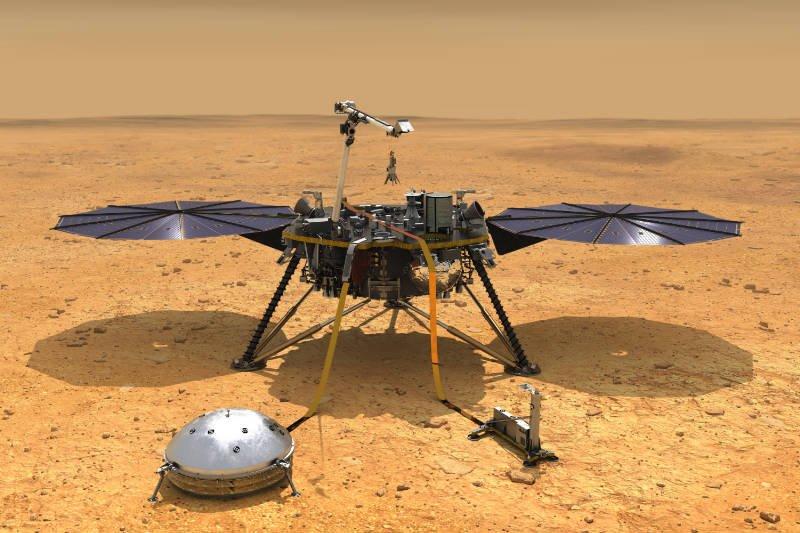 InSight on Mars