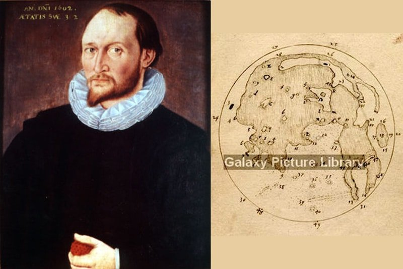 Thomas Harriot's Moon map