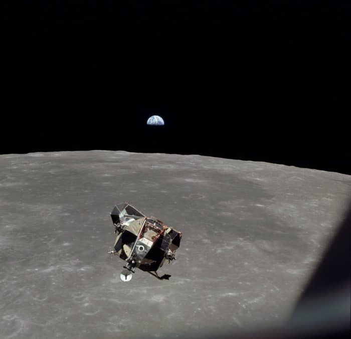 Lunar module ascent
