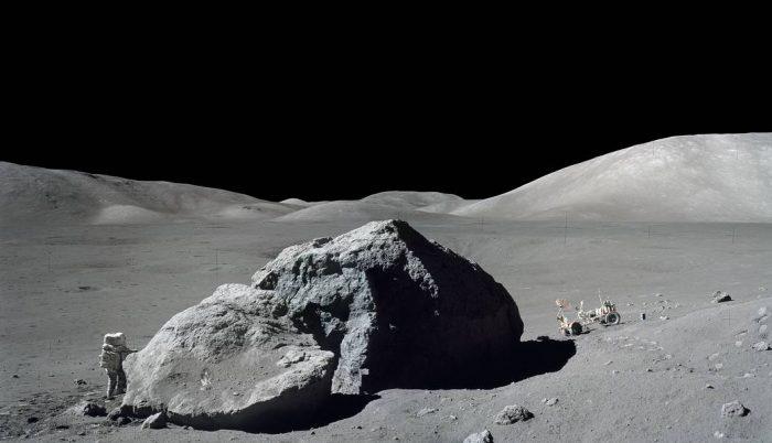 Harrison Schmitt on the Moon