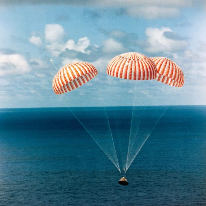 Apollo 14 splashdown