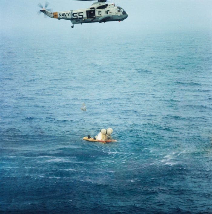 Apollo 7 splashdown
