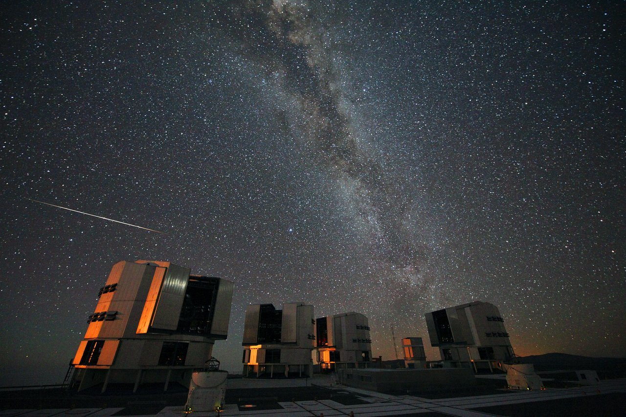 Perseif over Paranal