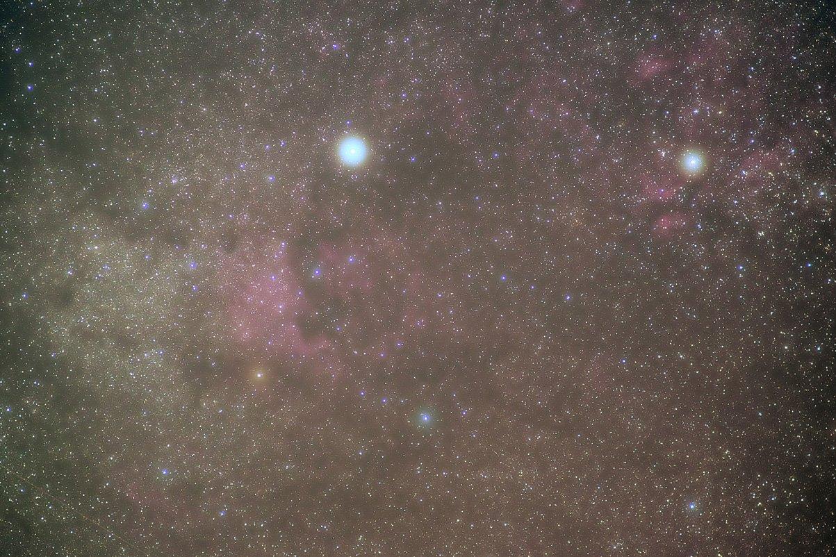 Milky Way around Deneb