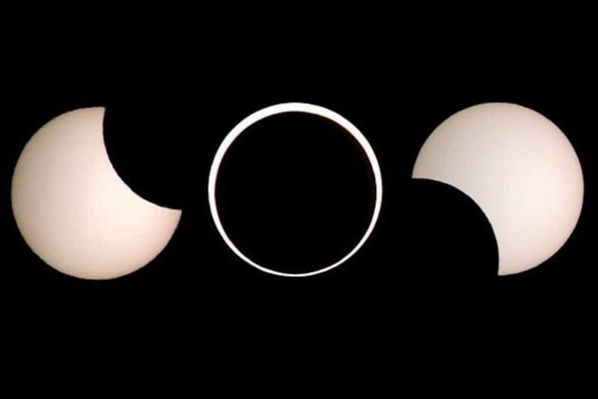 Annular eclipse phases