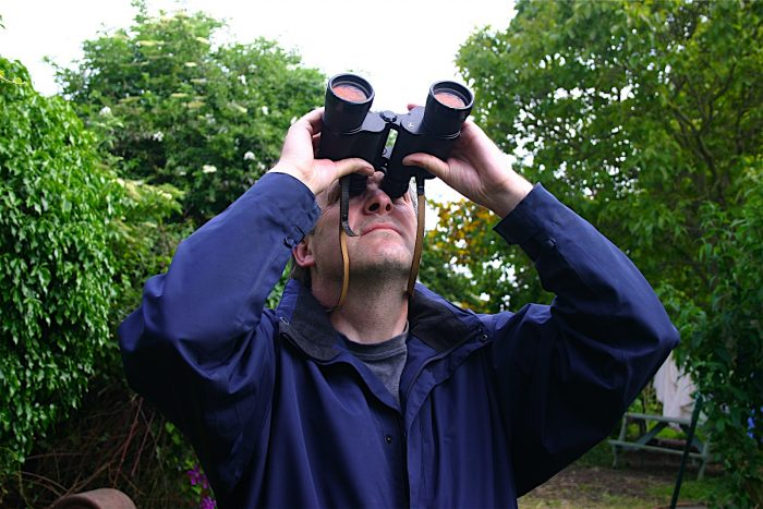 Binocular observer
